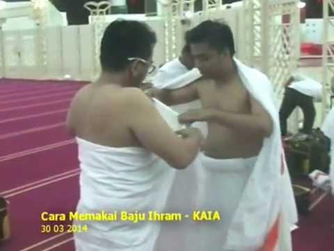 Video Ibadah Umrah 03 - Cara Berpakaian Ihram dan Solat Sunat Ihram