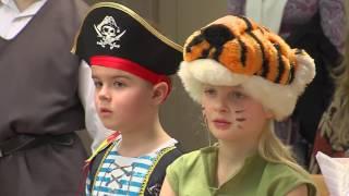 Центр польской культуры устроил для детей польской гимназии веселый карнавал