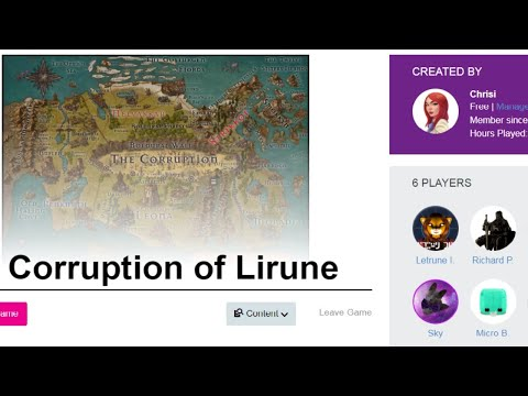 D&D w/Chrisiousity. Corruption of Lirune 15