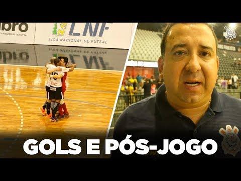 Confira os gols de Corinthians 4x1 Jaragua - LNF 2018