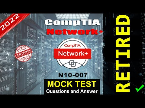 CompTIA N10-007 | CompTIA Network+ Mock Test | 2021 Exam Latest Q&A