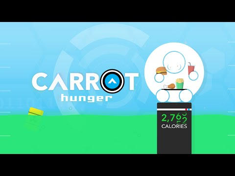 CARROT Hunger Trash Talks You While Counting Calories