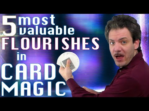 THE 5 MOST VALUABLE FLOURISHES IN CARD MAGIC tutorial series pilot