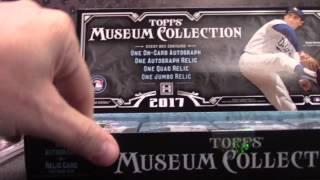 2017 Topps Museum Baseball 6 Box 1/2 Case Serial #s GB # 2