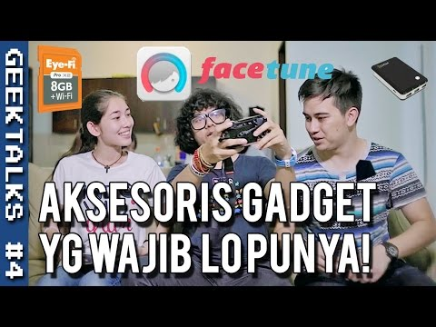 Video GEEKTALKS #4 - Tips, Gadget & Aksesoris yg WAJIB lo Punya! (Season 1)