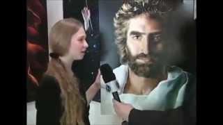 Dom incrível da menina Akiane Kramarik desenhou rosto de jesus