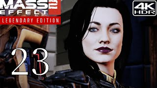 Mass Effect 2  Walkthrough Gameplay and Mods pt23  The Prodigal 4K 60FPS HDR Insanity