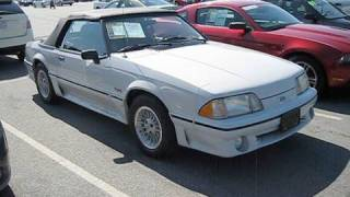 1989 Ford Mustang GT 5.0 Convertible Start Up, Exhaust, and In Depth Tour