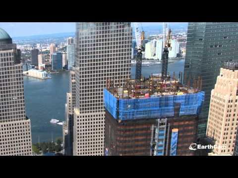 תהליך בניית מרכז הסחר העולמי החדש