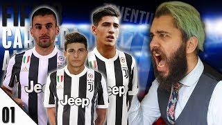 RIFONDAZIONE TOTALE! FUORI TUTTI! - E01 - FIFA 18 Carriera Allenatore Juventus [ITA]