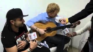Ed Sheeran Nandos Song with The Kris Fade Show