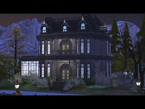 Vatore Manor 🦇 || The Sims 4: Speed Build