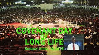 Bishop Oyedepo:Covenant Day of Long Life+Anointing Service