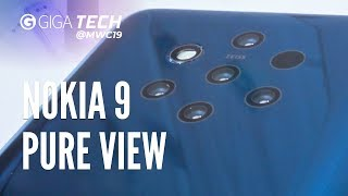 NOKIA 9 PUREVIEW Hands-On (deutsch): 5 Kameras, 1 geiles Bild – GIGA.DE