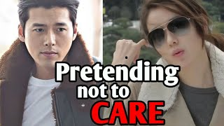 Hyun Bin & Son Ye Jin pretended they don't care for each other - 현빈 ❤️ 손예진