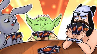 What if Yoda Played UNO?! - UNO FUNNY MOMENTS