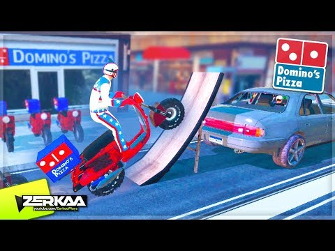 Becoming Dominos Pizza Delivery Drivers in Trials Rising! (Trials Rising)