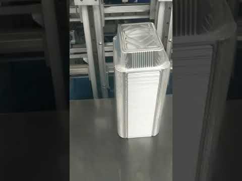 SMBI 4FOL70 Four Cavity Aluminum Foil Automatic Stamping Machine