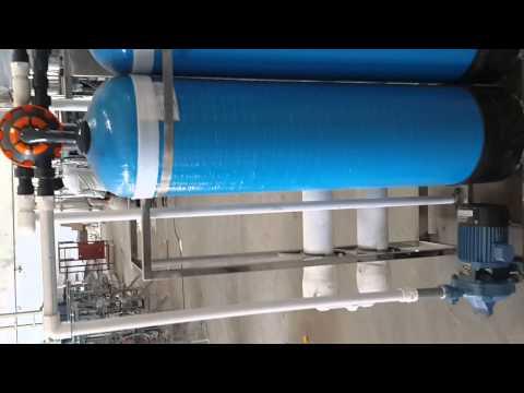 1000 Liter FRP RO Plant