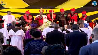 Kenyans bid farewell to Kikuyu pop star John De Mathew