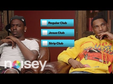 Young Dolph & Key Glock Choose Between Jesus and the Club | Noisey Questionnaire of Life