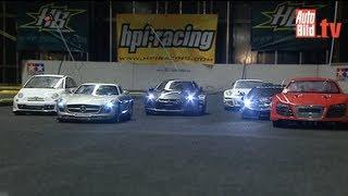 R8, SLS, Fiat 500, Gallardo, GT-R und GT3 RS - Ferngesteuertes Fahrvergnügen