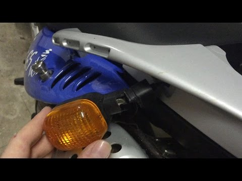 BMW F650GS DAKAR Rear Indicator Repair and General Look