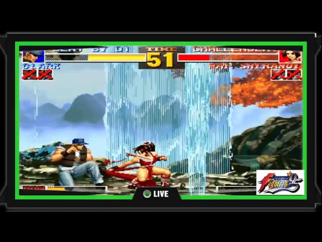 THE KING OF FIGHTER  95