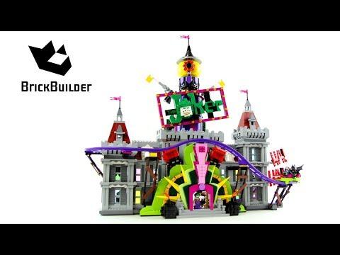 Конструктор Lp Batman «Поместье Джокера» 07090 (Batman Movie 70922) 3857 деталей
