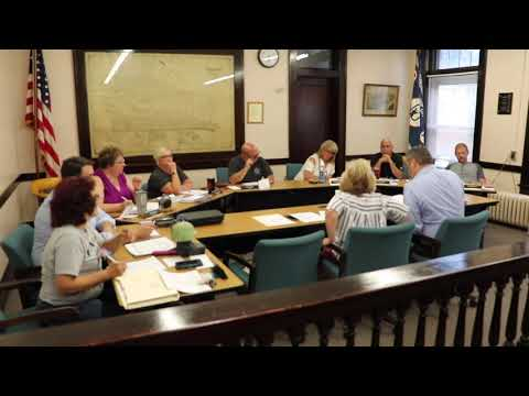 Charleroi Council Work Session 08-07-2019