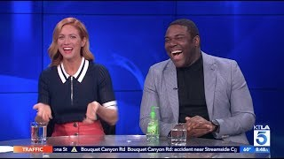 Brittany Snow & Sam Richardson On Their New Film Hooking Up