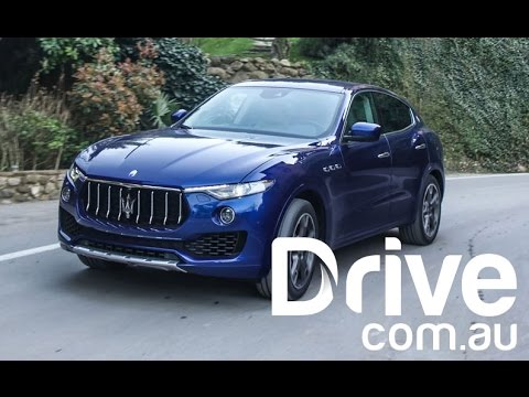 Maserati Levante First Drive Review | Drive.com.au