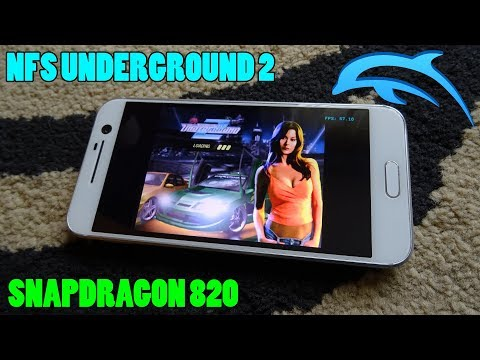 OnePlus 5T Need for Speed Underground 2 Gameplay Dolphin