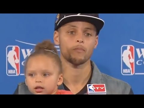 Steph Curry Admits He REGRETS Bringing Riley Curry To The Podium!