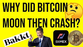 Why did BITCOIN surge then crash? | Emergency video update