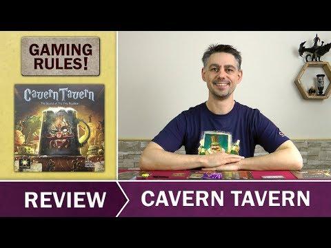 Cavern Tavern  - Gaming Rules! - Review
