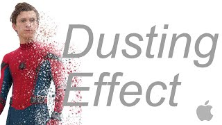 Avengers Dusting Effect - Affinity Photo Tutorial IPad Pro