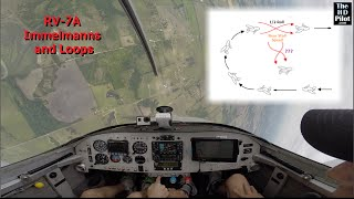 RV-7A: Immelmans and Loops with Rich Graham (former SR-71 Blackbird pilot)