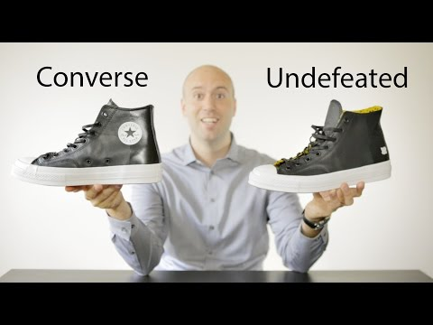 564eb3371fe ... new arrival 881d7 1173e Converse Chuck Taylor All Star X Undefeated  Unboxing Review On Feet Mr ...