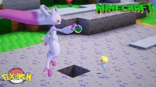 Uxie  - (Pokémon) - Minecraft Pixelmon+ Tập 33: Mega Mewtwo Y và Legendary Uxie
