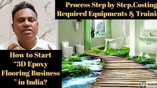 3d Epoxy flooring Process / 3d Epoxy flooring Businesses in India