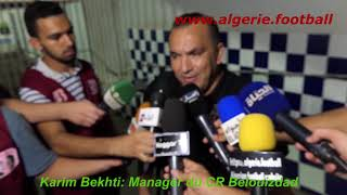 Ligue 1 Mobilis : Les réactions du match NAHD – CRB