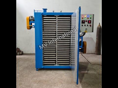 Electric Tray Dryer 48 Trays