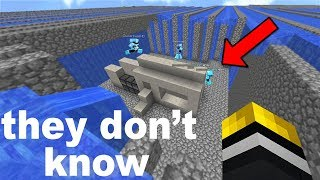 So I just TROLLED another Minecraft base which had pros players inside... and this is what happened!