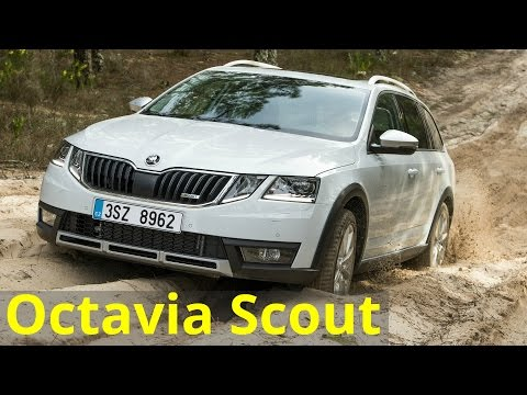 Skoda Octavia Combi Scout Универсал класса C - тест-драйв 1