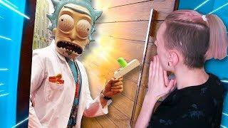 РИК И МОРТИ ПЕРЕЕХАЛИ КО МНЕ В ДОМ ЮТУБЕРОВ!!! (Rick and Morty: Virtual Rick-ality)