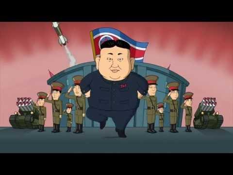 Корейский поп, Питер косит под Хёну (Гриффины, Family Guy 2016)