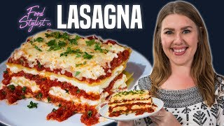 Food Stylist Shares Secrets To The Perfect Lasagna | Food Styling Tips And Tricks