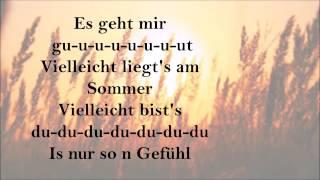 LEMO   Villeicht Der Sommer   Lyrics
