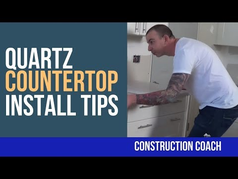 Quartz Countertop - Install Tips!